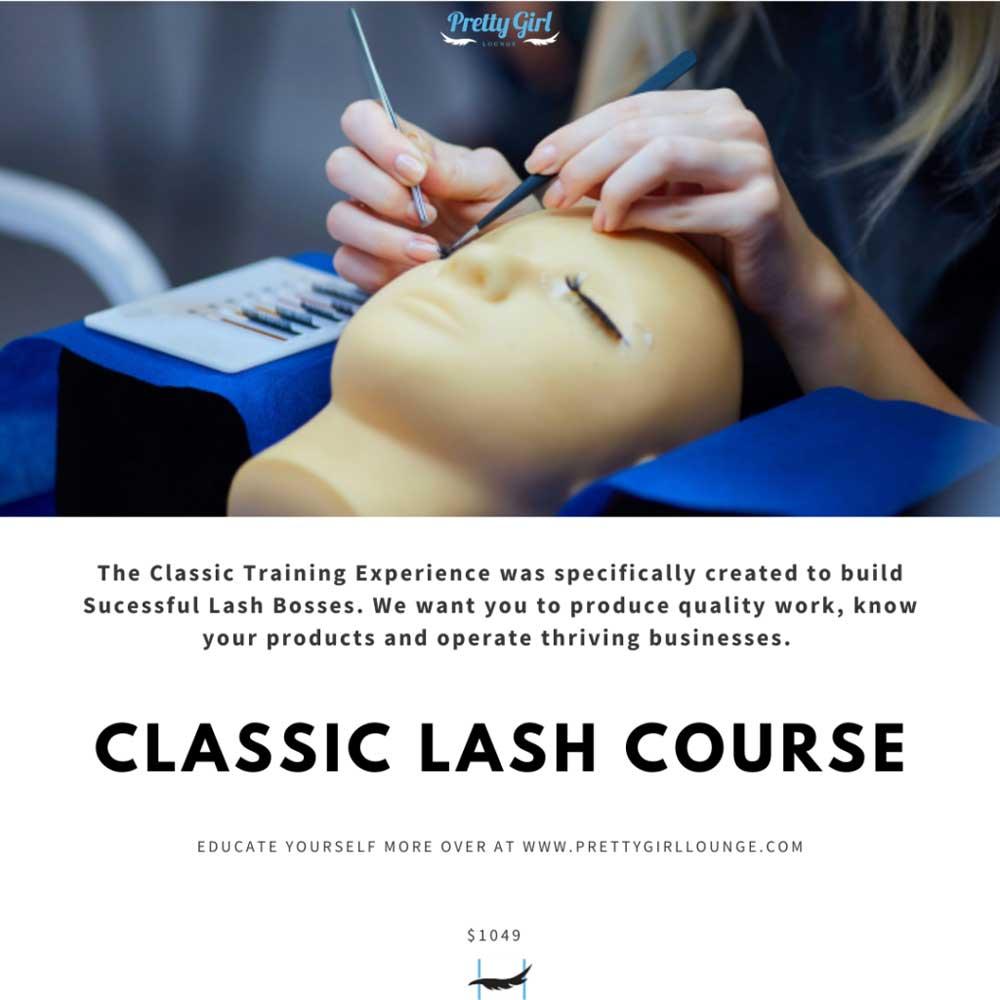 Pretty Girl Lounge Classic Lash Course
