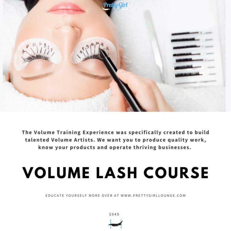 Pretty Girl Lounge Volume Lash Course